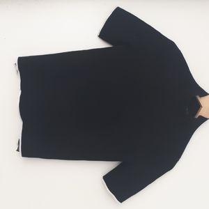 zara knit shirt size small
